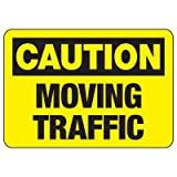 Vivityobert Señal de Advertencia de tráfico en Movimiento Metal para Peligro de Peligro, señal de Peligro para decoración del hogar de la Propiedad, señal de Patio de 8 x 12 Pulgadas