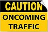 Señal de Advertencia de tráfico entrante, Letrero de Metal para la Propiedad privada, señal de Seguridad de Peligro, señal de Puerta, 8 x 12 Pulgadas