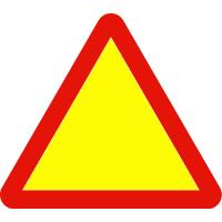 Señales de peligro por obras