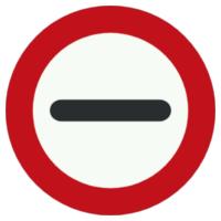 Señales de restricción de paso